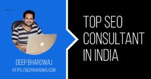 Top SEO consultant in India
